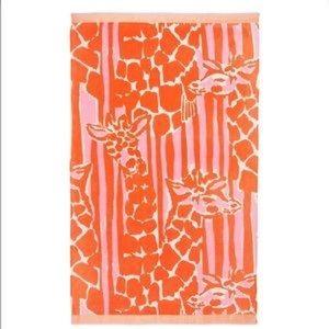Lilly for Target beach towel in Giraffeeey